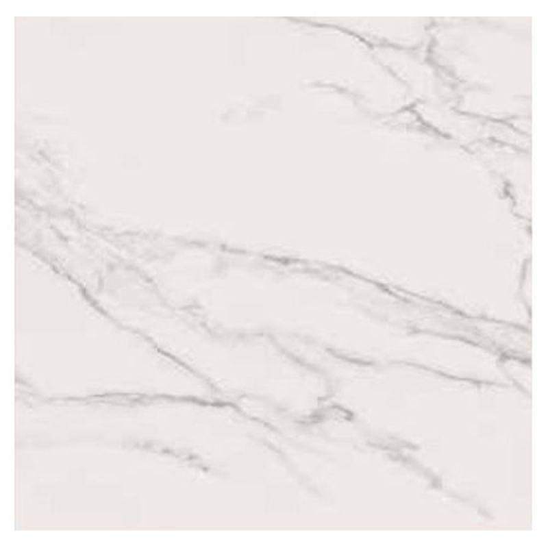 Керамогранитная плитка напольная, белая, 60х60 см ABK CERAMICHE Sensi Statuario White Sable Ret 1SR01750 (525941)