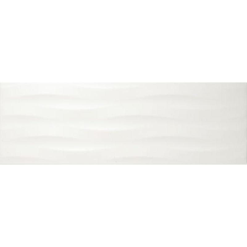 Керамическая плитка настенная, белая, 20х60 см APE CERAMICA Adorable Gramy White (310605)