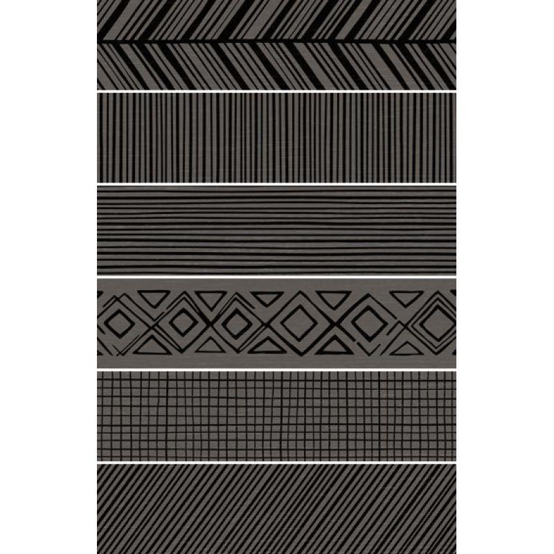 Керамогранитная плитка напольная, наружная, серая, 14,6х59,3 см APE CERAMICA Takenos Picasso Mix Graphite (310619)
