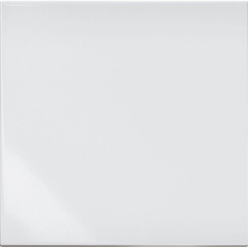 Керамическая плитка настенная, белая, 20x20 см CERAMICA BARDELLI Bianco E Nero Bianco Extra (BE00020)