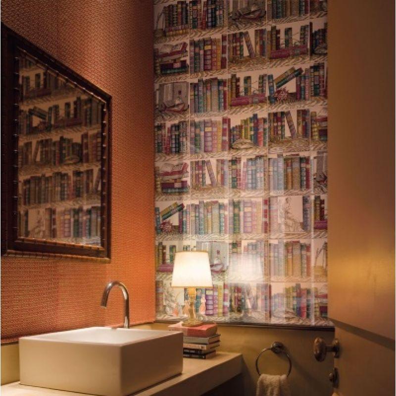Декор керамический настенный, книги, 20х20 см CERAMICA BARDELLI Libreria 2 (LI00220), фото 3