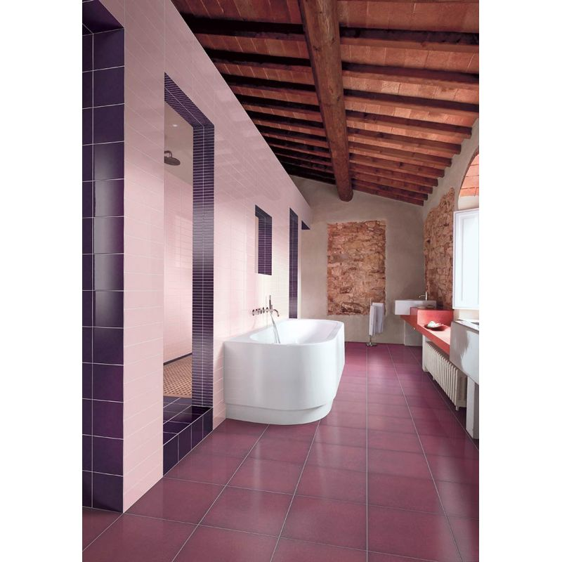 Керамическая плитка настенная, розовая, 5x5 см CERAMICA BARDELLI Colore And Colore B4 (CC0B405), фото 2
