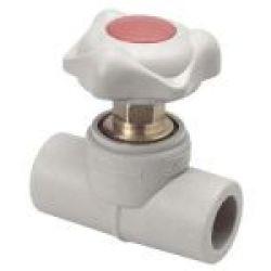 Вентиль проходной, 25 мм EKOPLASTIK (SVE025)