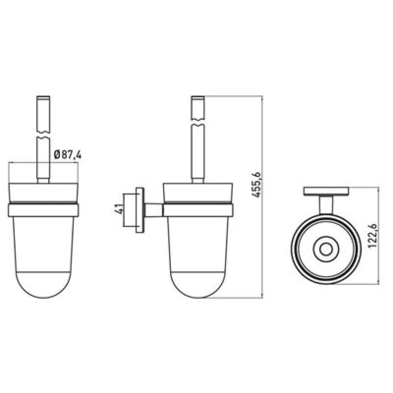 Ершик для унитаза EMCO Polo (0715 001 00), фото 2