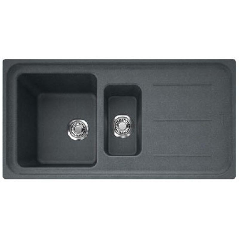 Мойка кухонная, графит, 970х500 мм FRANKE Impact IMG 651 (114.0363.846)