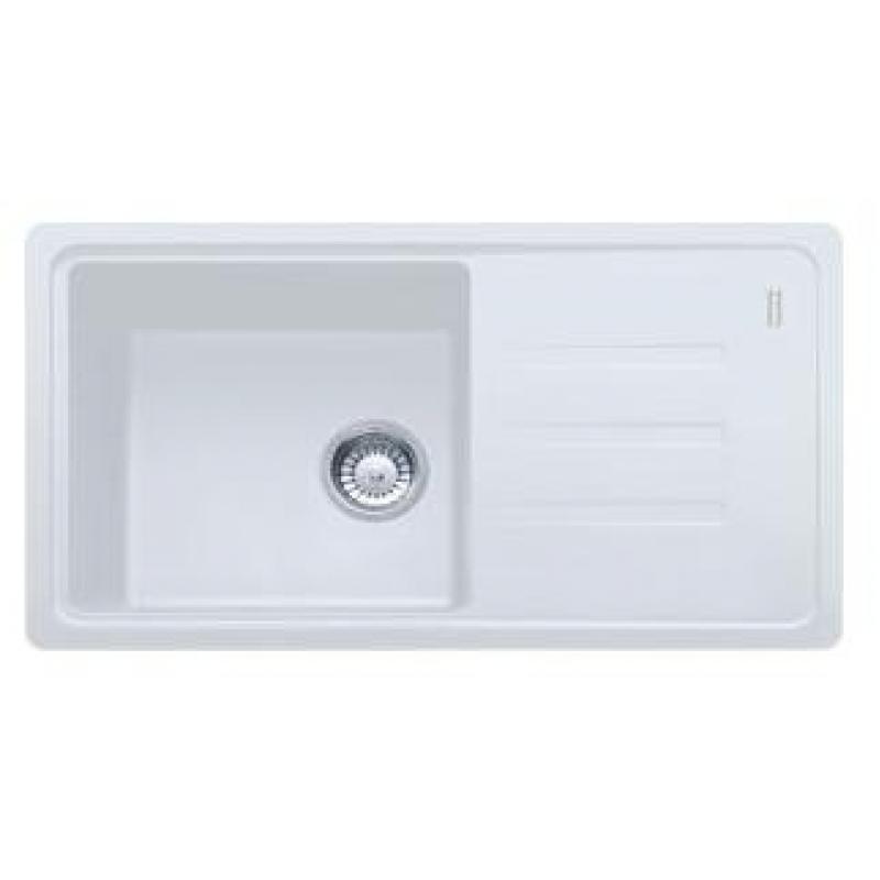 Мойка кухонная, белая, 780х435 мм FRANKE Malta BSG 611-78 (114.0375.033)