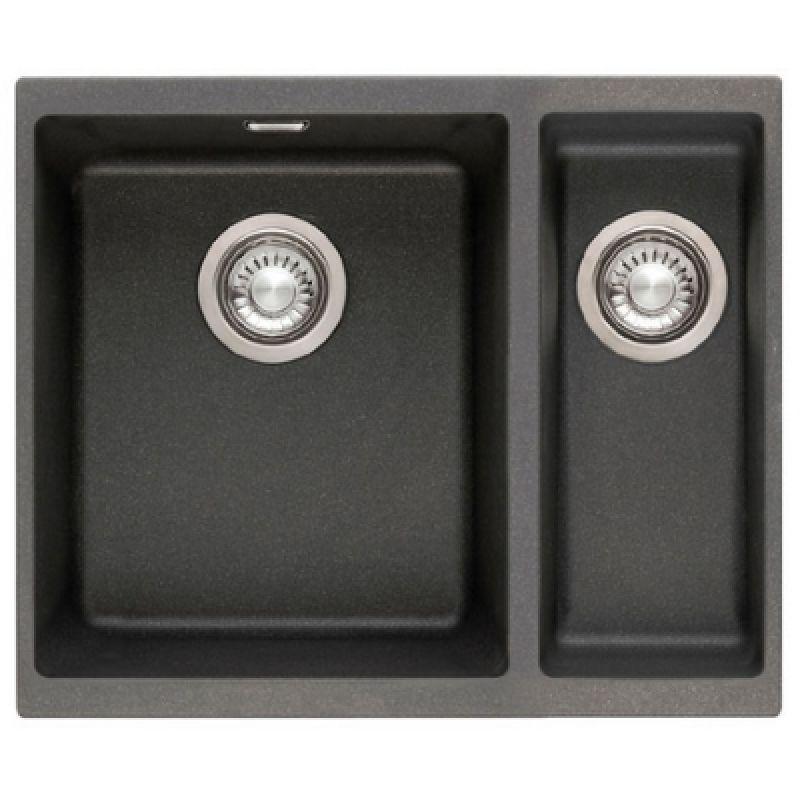 Мойка кухонная, чёрная, 559х439 мм FRANKE Sirius SID 160 (125.0395.609)