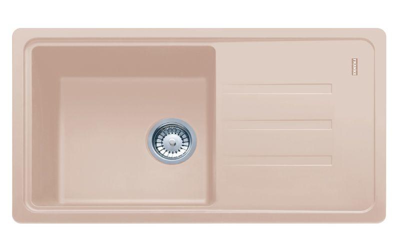 Мойка кухонная, бежевая, 780х435 мм FRANKE Malta BSG 611-78 (114.0375.036)