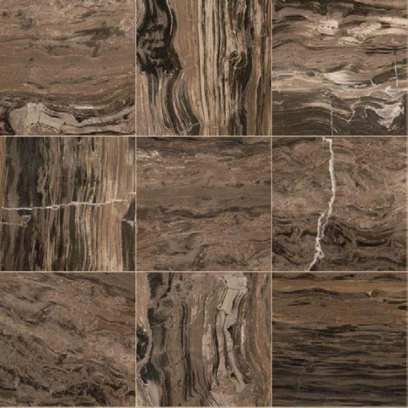 Керамогранитная плитка универсальная, наружная, коричневая, 39х78 см GARDENIA ORCHIDEA Charme Cappuccino Satinato (44033)