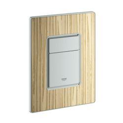 Накладная панель с деревянной поверхностью ясень GROHE Skate Cosmopolitan (38849HT0)