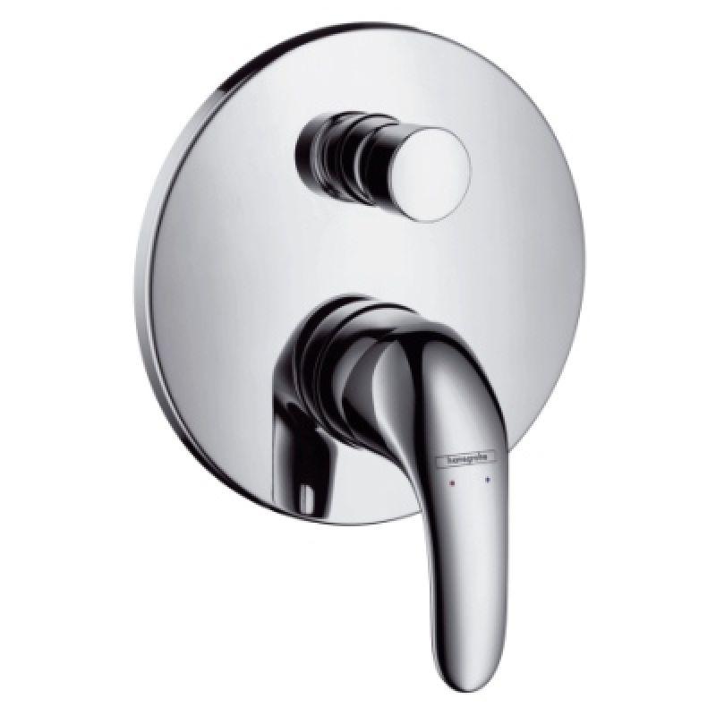 Смеситель для ванны однорычажный СМ HANSGROHE Focus E (31744000)