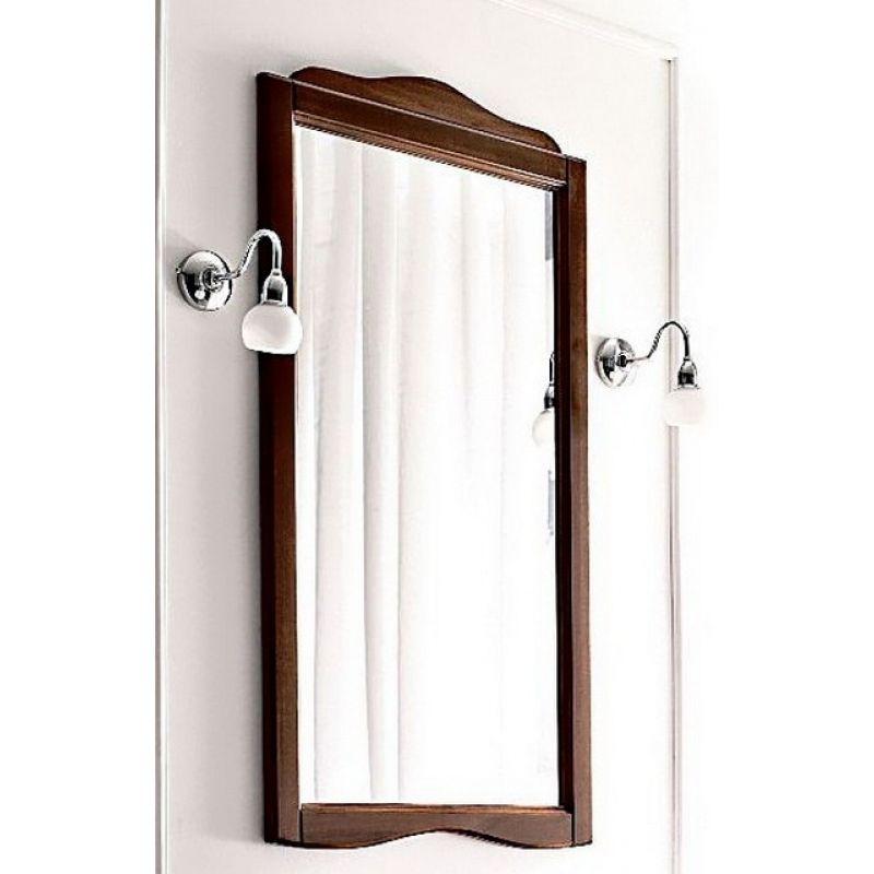 Зеркало для ванны 63 см, орех KERASAN Retro (731340)