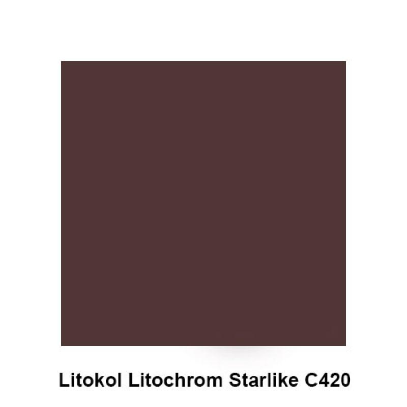 Клей затирка мокко 1 кг LITOKOL Litochrom Starlike C420 (353659)