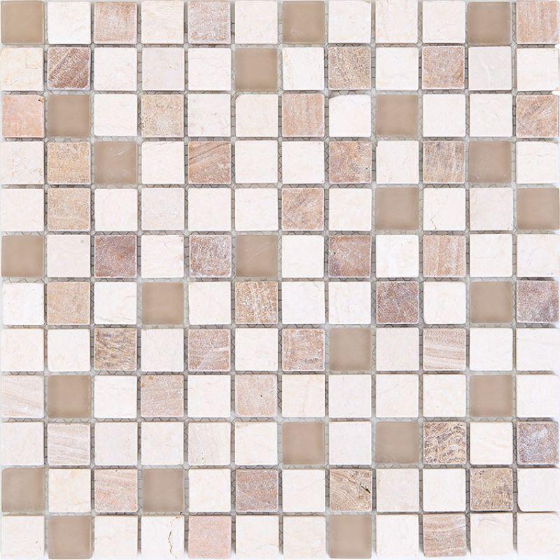 Мозаика 30х30 см MOZAICO DE LUX V-Mos ANTIQUE BEIGE S823-11 (323325)