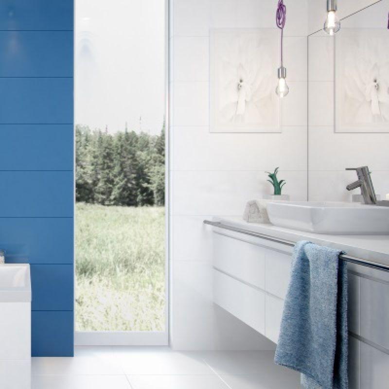 Керамическая плитка настенная, белая, 25х75 см OPOCZNO Vivid Colours,White Magic (282087), фото 3