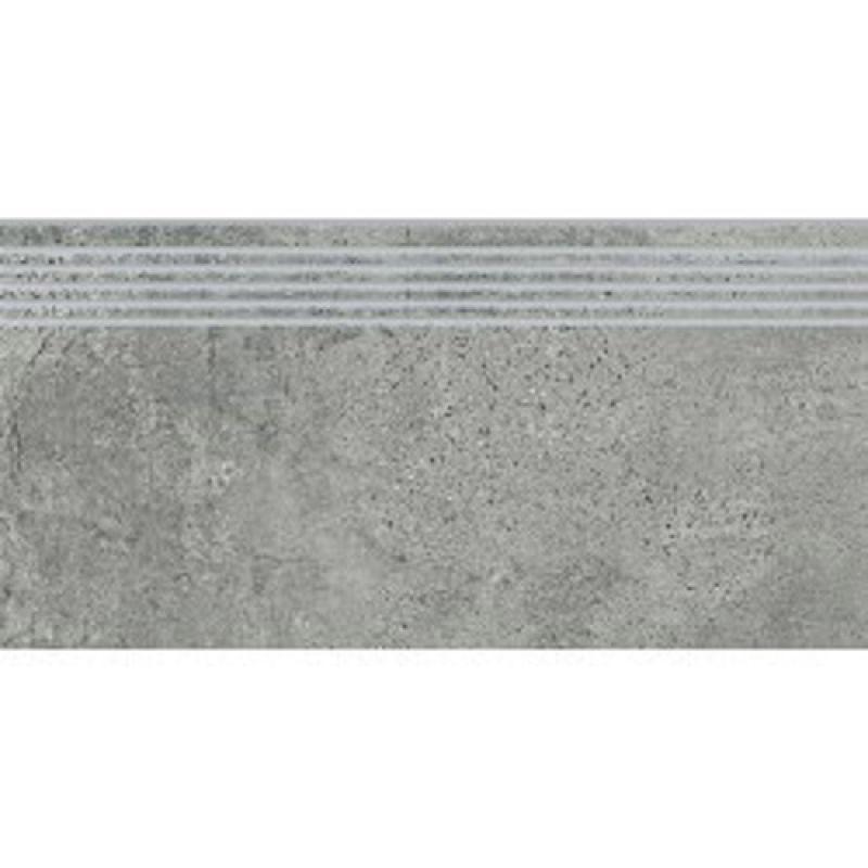 Плитка для ступеней 30х120 OPOCZNO Newstone GREY STEPTREAD (441730)