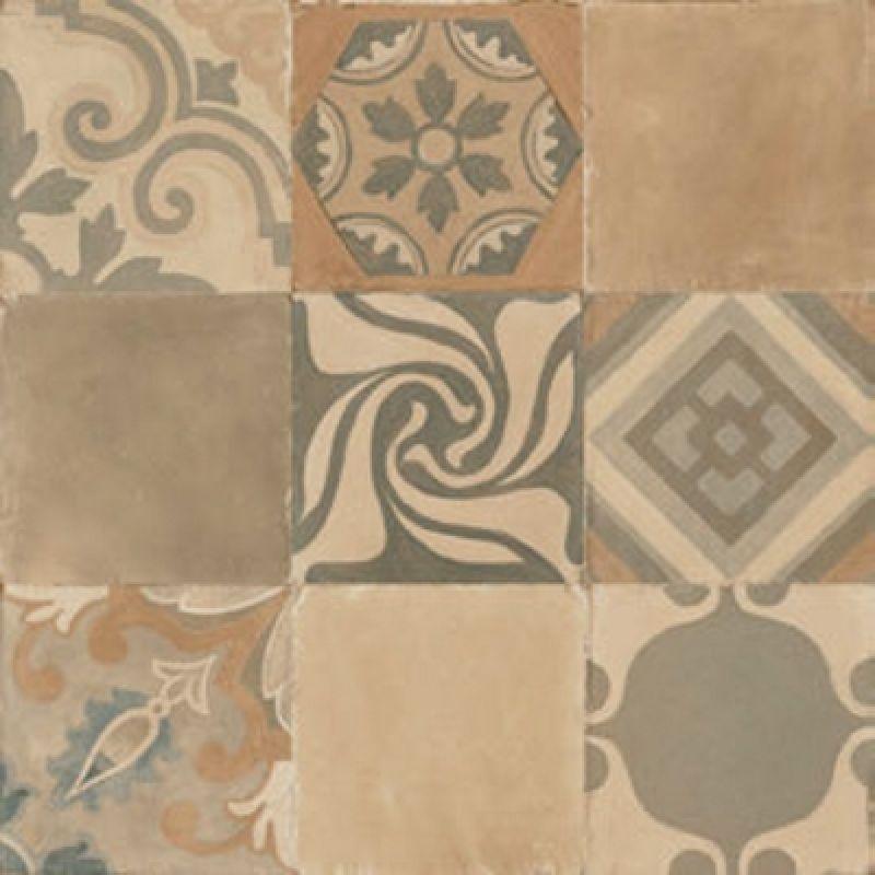 Керамогранитная плитка универсальная, наружная, коричневая, 60х60 см RICCHETTI CERAMICHE Terracotta Cementina Argilla Rett. (305308)