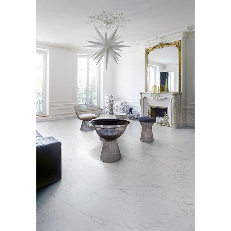 Керамогранитная плитка напольная, наружная, белая, 60х60 см SANT AGOSTINO Marmocrea Arabescato (CSAARABE60), фото 2