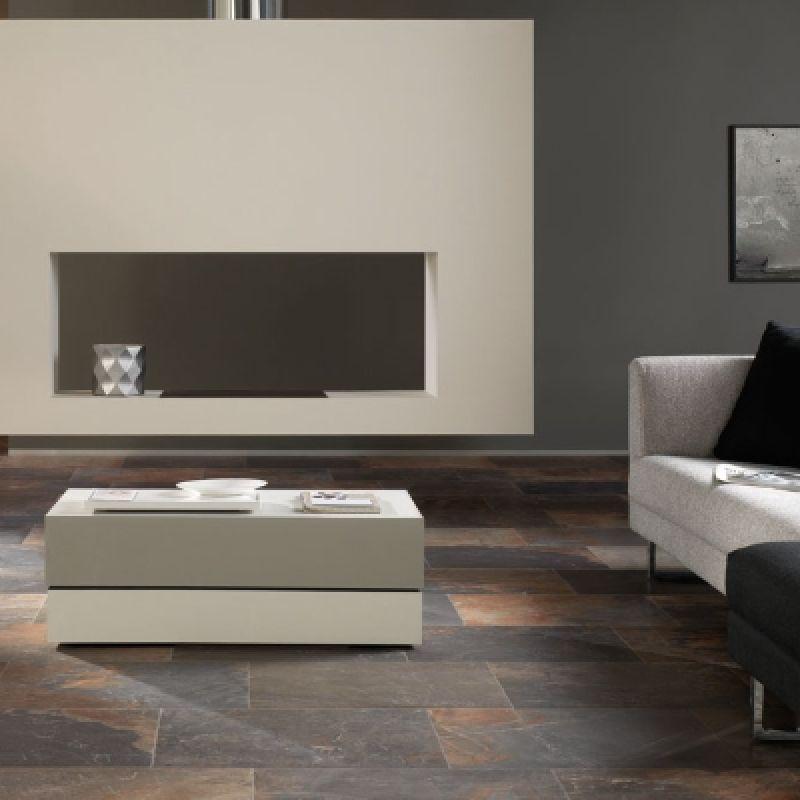 Керамогранитная плитка напольная, наружная, коричневая, 45,8x45,8 см UNICOM STARKER Natural Slate Multicolor (155705), фото 3