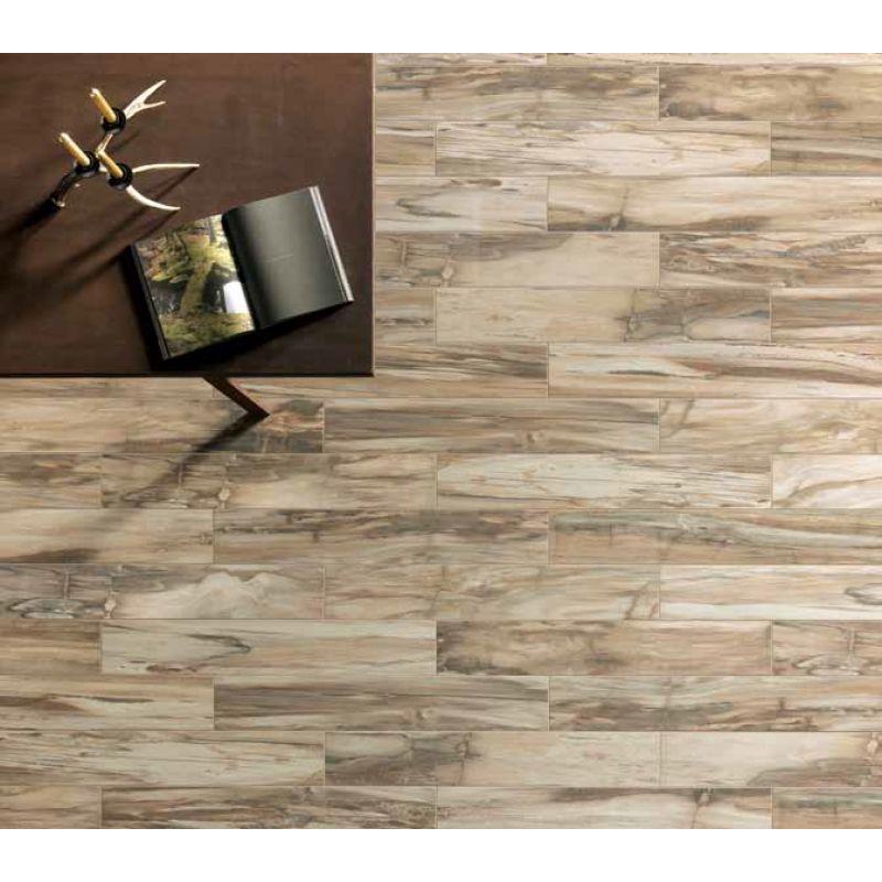 Керамогранитная плитка универсальная, наружная, коричневая, 15x90 см UNICOM STARKER Timeless Amber (255512), фото 3